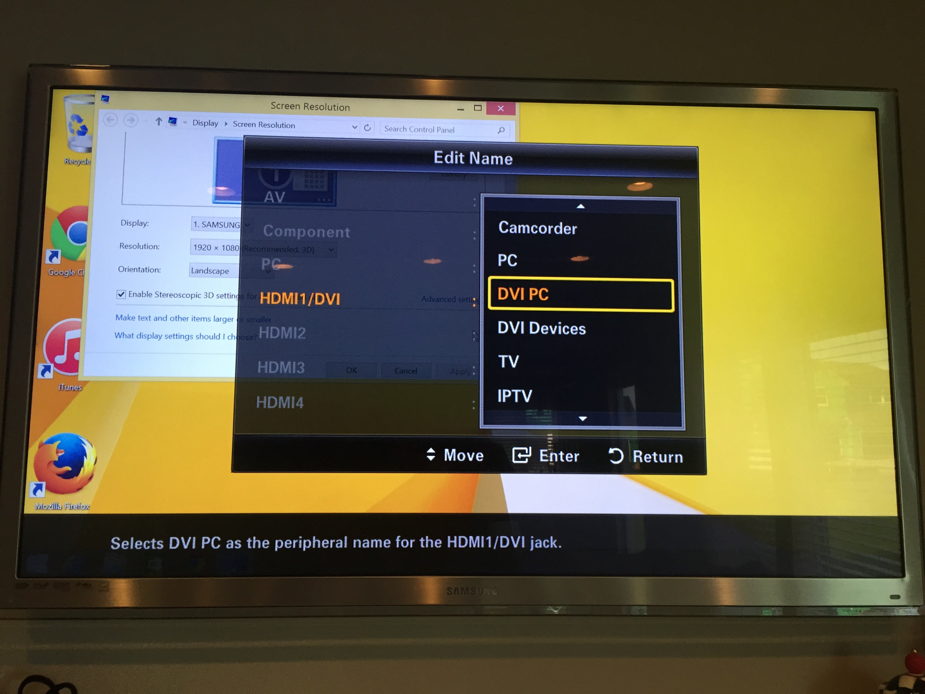 how to fix overscan on tv